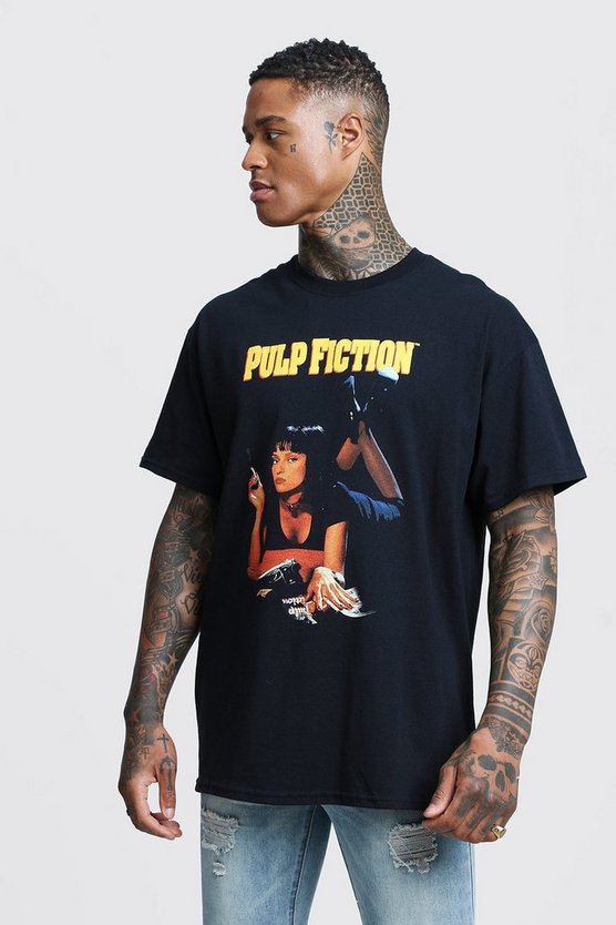 Pulp Fiction Mia Licensed Oversized T-Shirt