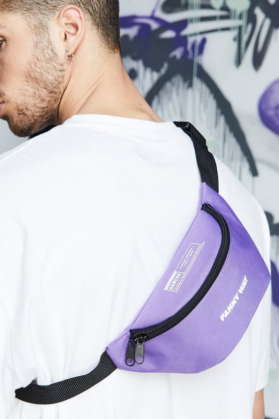 Purple Quavo Printed Bumbag