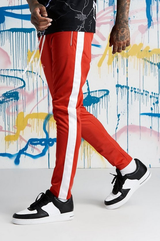 Quavo Tricot Joggers With Panels