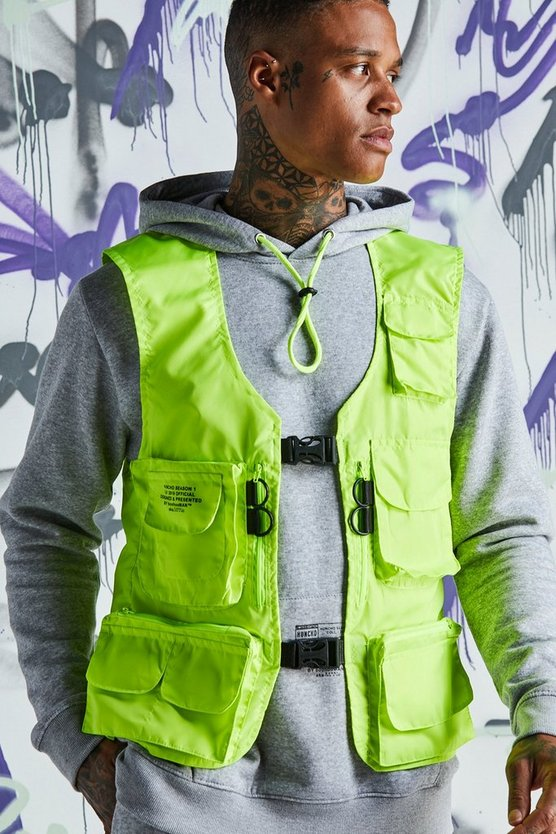 Quavo Nylon Military Buckle Vest