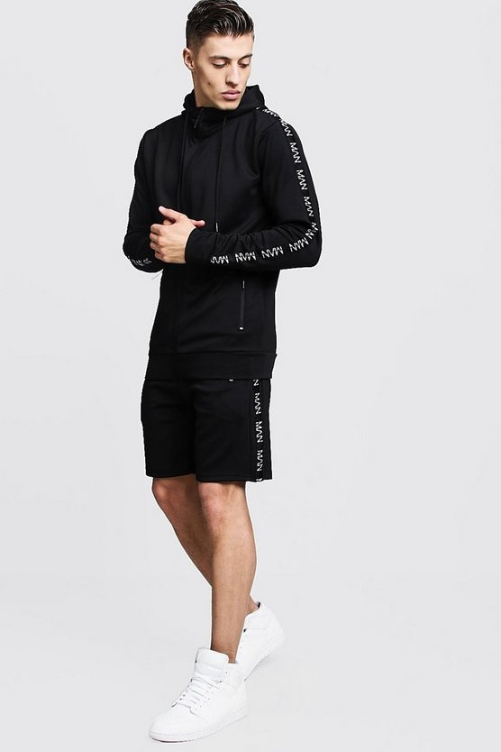Scuba Short Tracksuit With MAN Tape