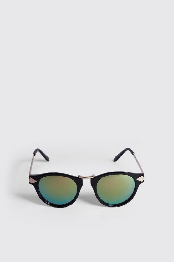 Arrow Edge Retro Sunglasses
