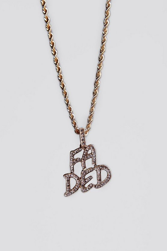 Faded Chain Necklace
