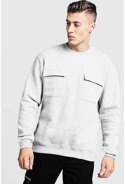 8e212f37f90ee Mens Hoodies & Sweatshirts - boohooMAN UK