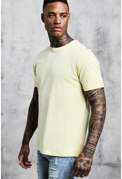 Mens Lemon Man Signature Embroidered T-Shirt