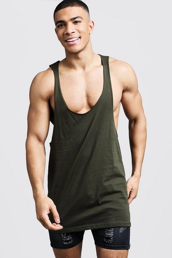 Raw Edge Racer Back Vest