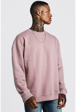Mens Bark Fleece Oversized Sweatshirt