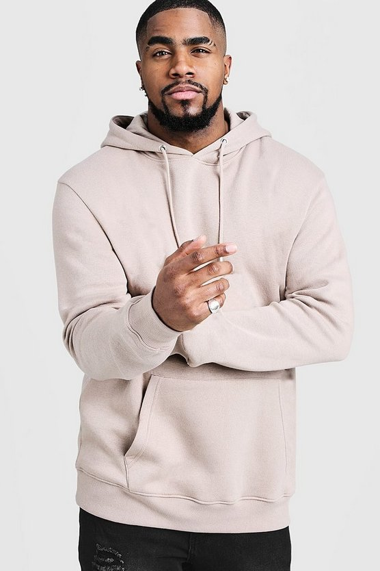 Big & Tall Basic Over The Head Hoodie