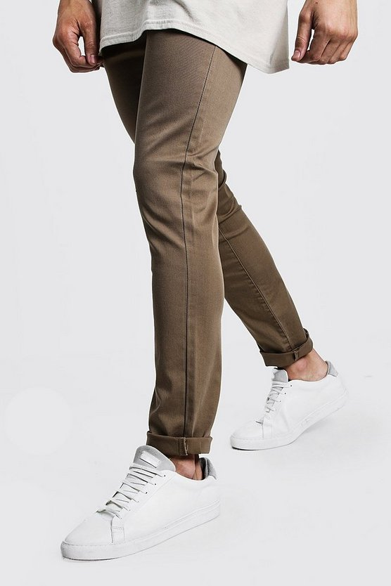 Cotton Linen Blend Slim Fit Trouser