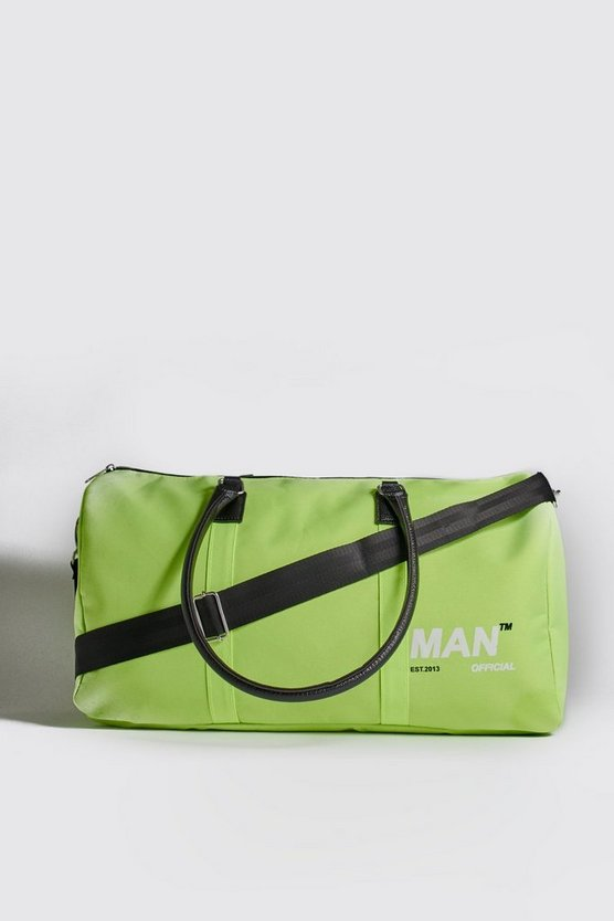 MAN Branded Nylon Holdall