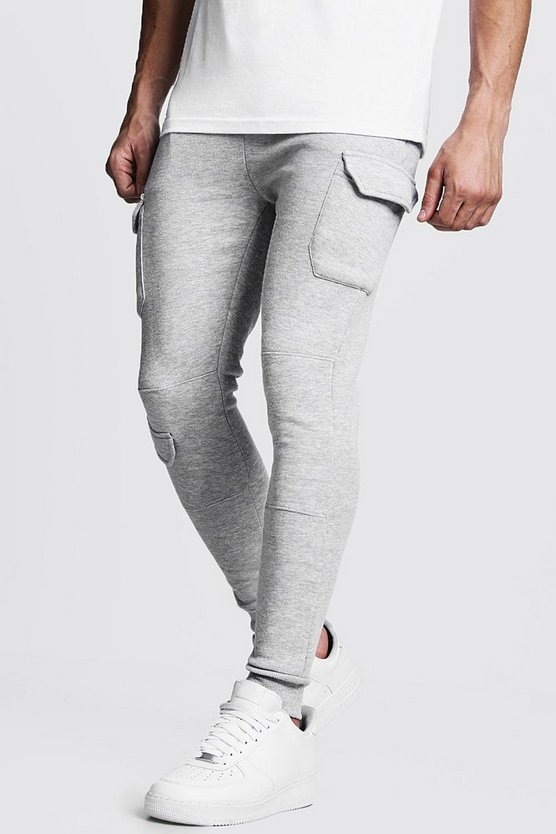 Multi Cargo Pocket Skinny Fit Jogger