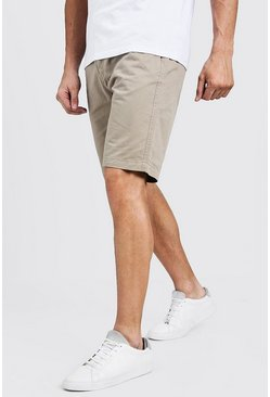 Short chino Coupe slim en coton, Roche, Homme