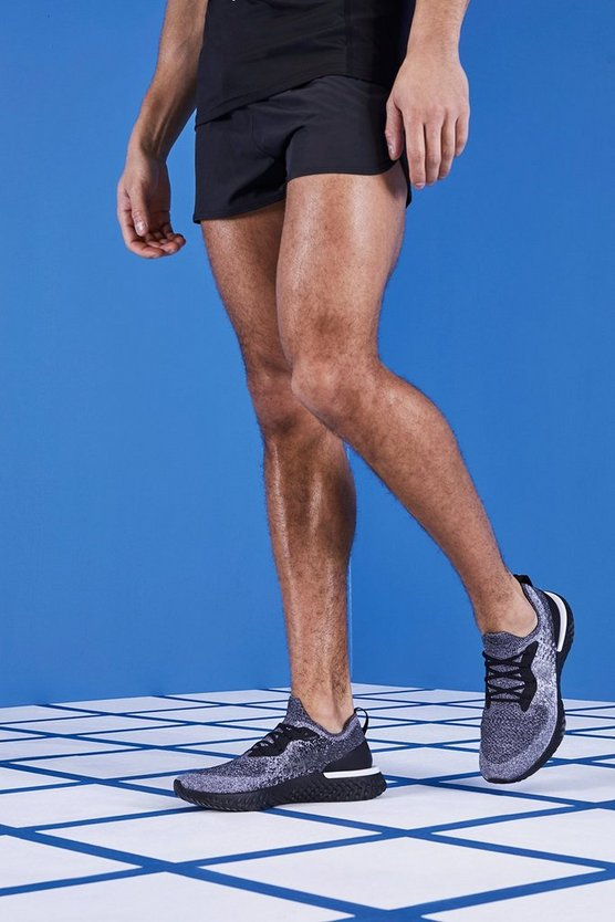 MAN Gym Reflective Runner Shorts