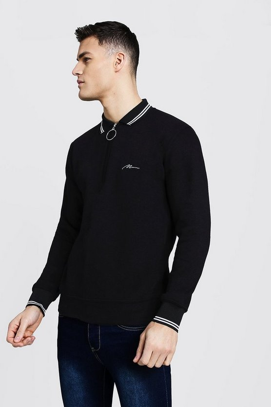 MAN Signature Rugby Sweater