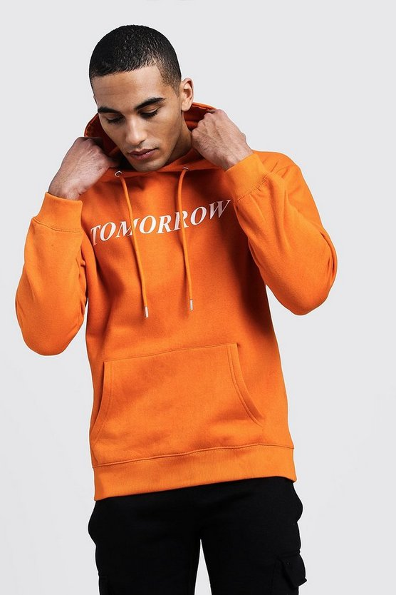 'Tomorrow' High Build Print Hoodie