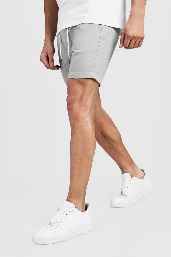 Slim Fit Rugby Chino Shorts