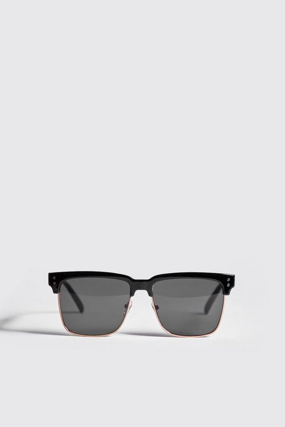 Square Lens Retro Sunglasses