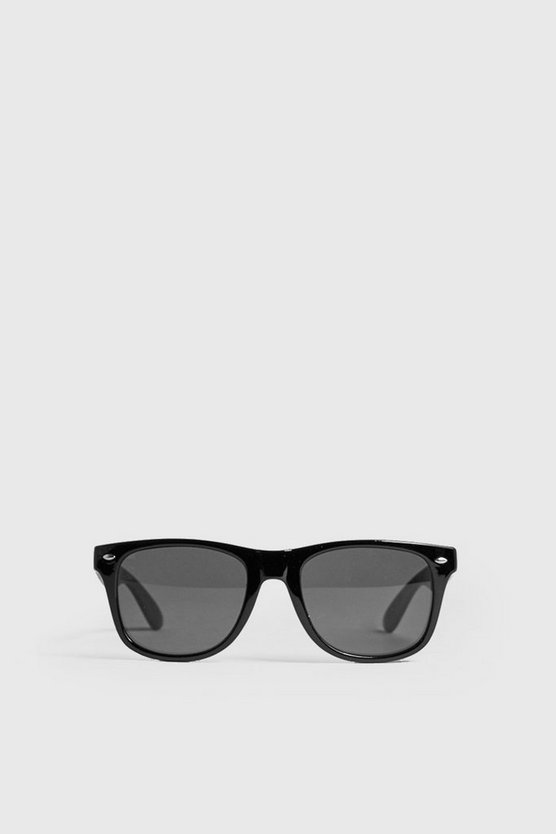Mens Black Classic Sunglasses