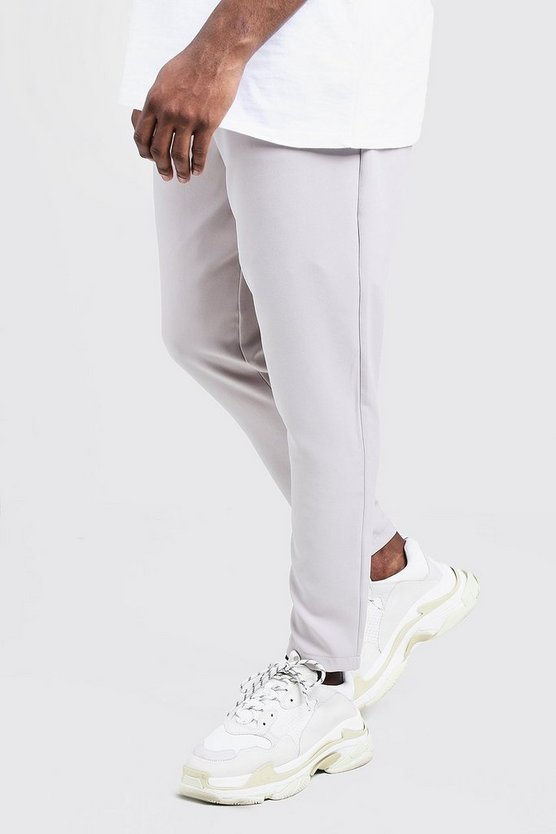 Big & Tall Plain Smart Jogger Trouser
