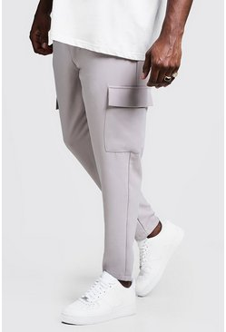 Mens Stone Big & Tall Utility Pocket Smart Jogger Pants