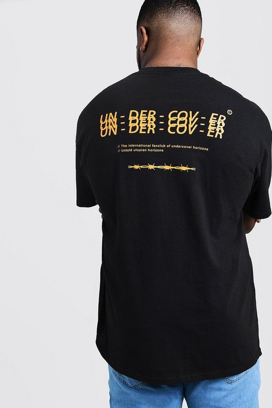 Big & Tall 'Undercover' Back Print T-Shirt