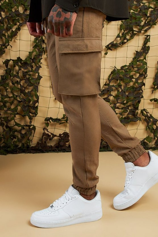 Cargo Trousers With Cuff