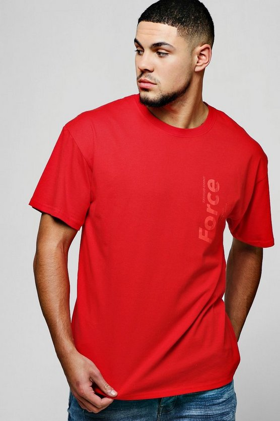 Loose Fit Force Design T-Shirt