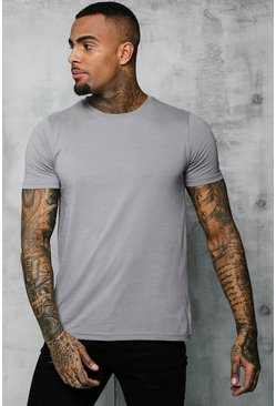 Ash Basic Crew Neck T Shirt