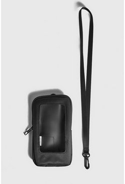 Black Window Mini Cross Body Bag