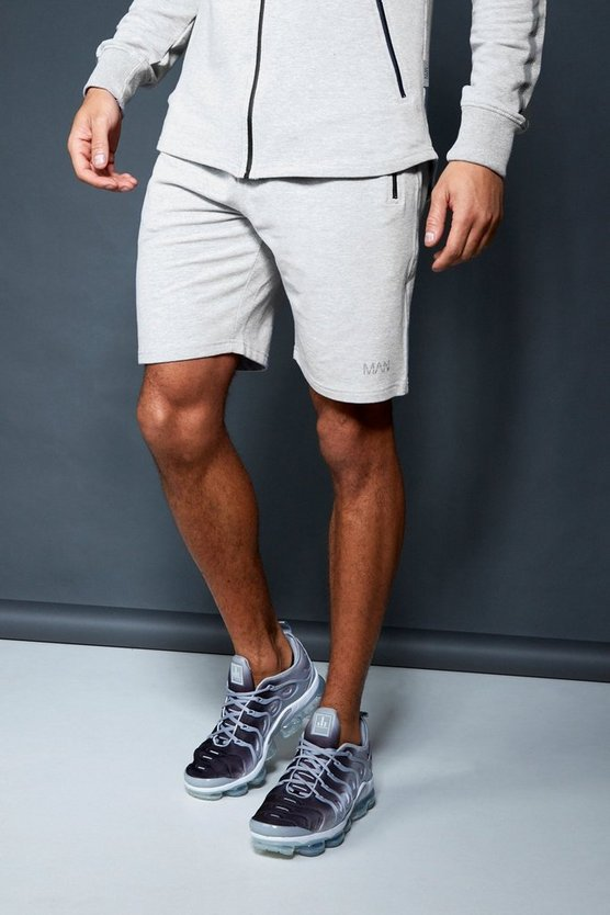 Short midi Active Gym, Gris