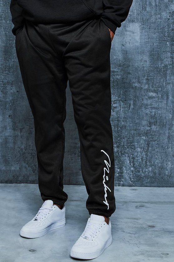 Black Big And Tall Disney Loose Fit Mickey Joggers