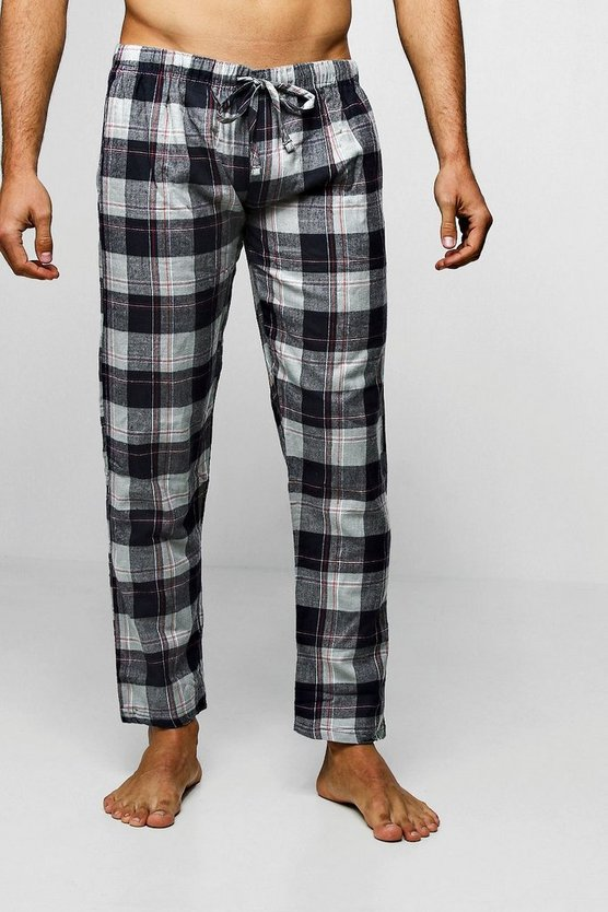Grey Flannel Check Lounge Pants