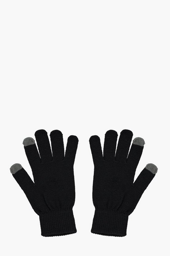 Thermal Touch Screen Gloves by Boohoo Man