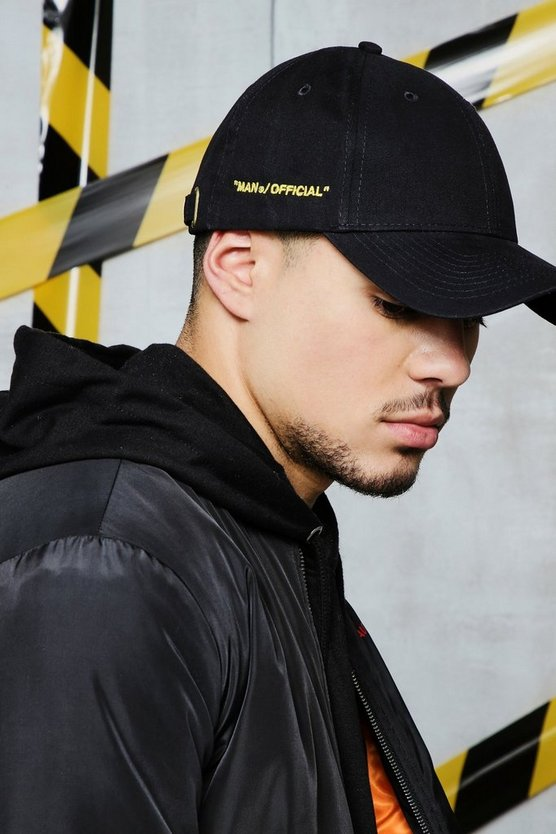 Black Man Certified Embroidered Cap