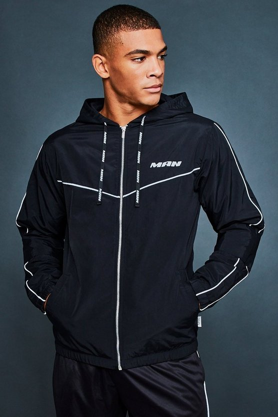 Black Active Running Jacket