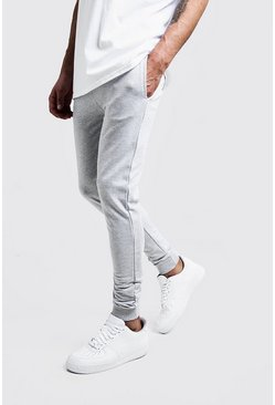 jogging super skinny, Gris chiné