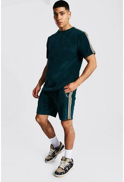 T-shirt et short - MAN, Teal