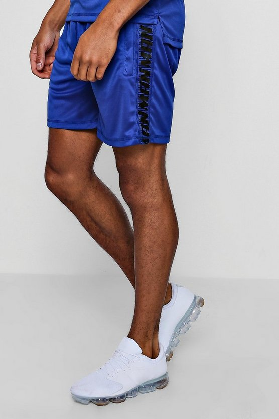 Cobalt Active Gym Runner Short With Side Panel