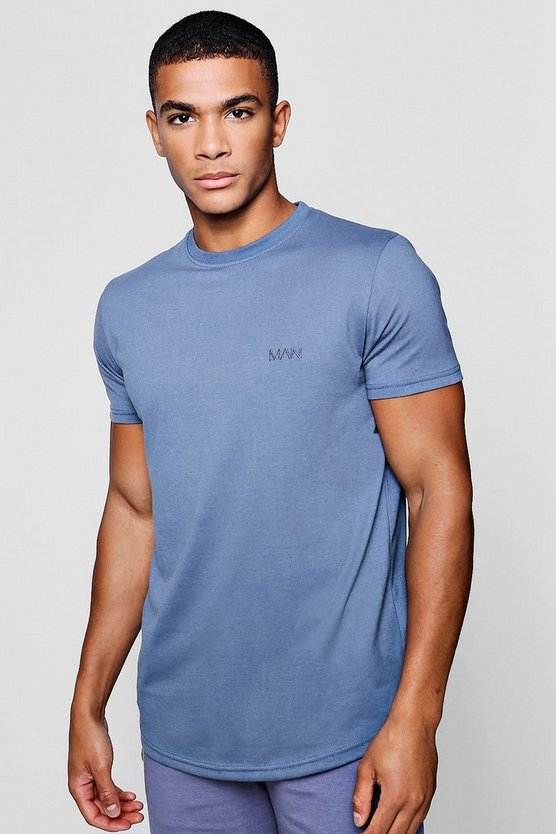Blue Short Sleeve Active Gym T-Shirt