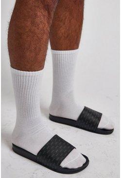 Black Mono MAN Branding Slider