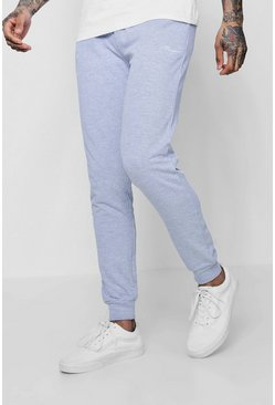Grey marl MAN Signature Skinny Fit Jogger