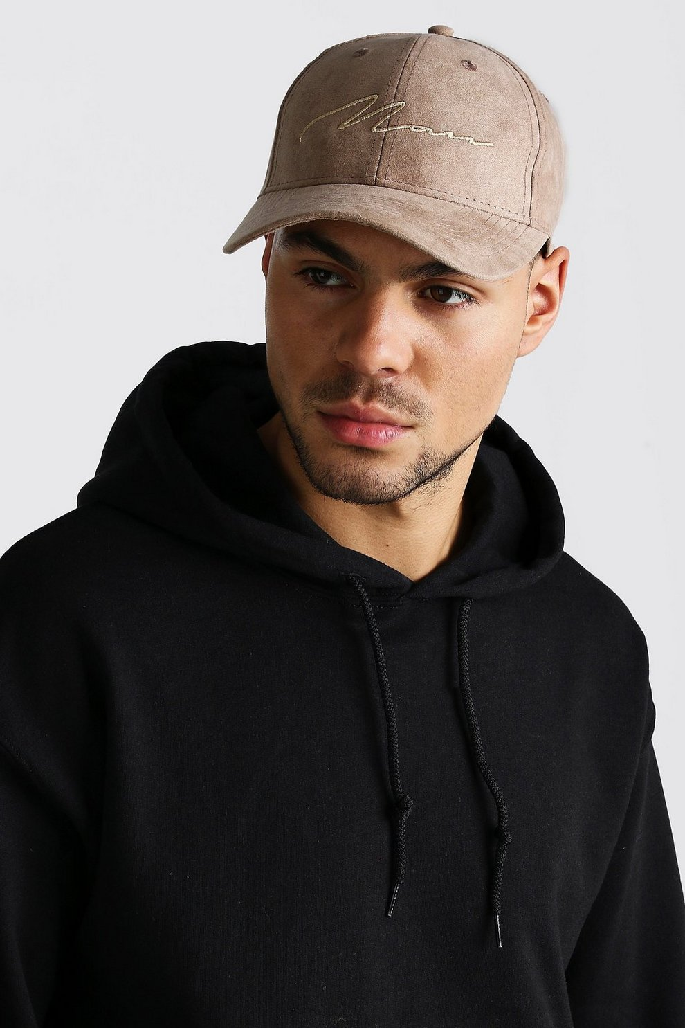 68e909fd 6 Panel Cap With MAN Embroidery