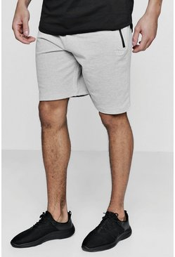 Grey Active Gym Shorts