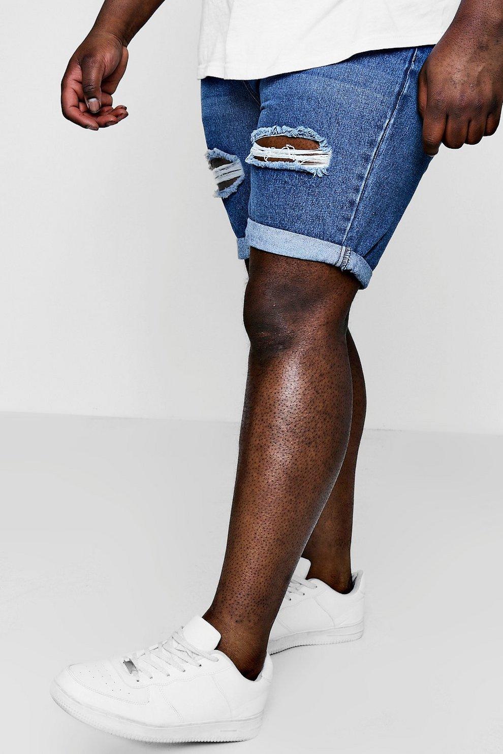 7600821206 Tall Denim Shorts - boohooMAN