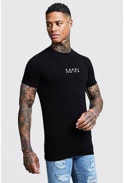 Black Original MAN T-Shirt In Muscle Fit