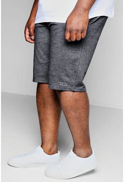 Charcoal Plus Size MAN Dash Basket Ball Short