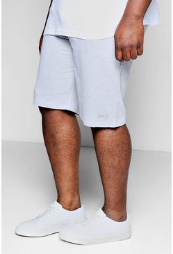 Grey Plus Size MAN Dash Basket Ball Short