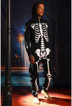 Black Skeleton Onesies