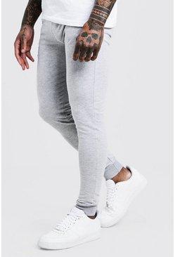 Grey Super Skinny Joggers