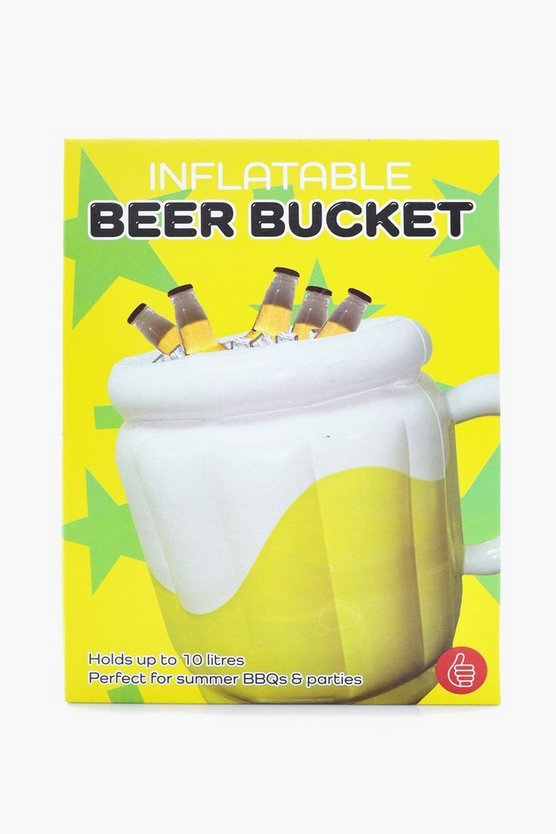 Yellow Inflatable Beer Bucket